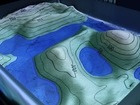 AR Sandbox: topography and water table